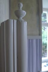 Detail Wandtäfer im Wohnzimmer