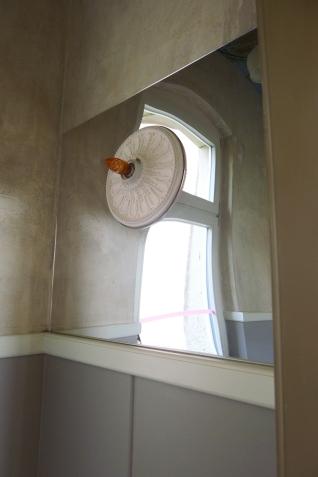 Wanddetail im separaten WC