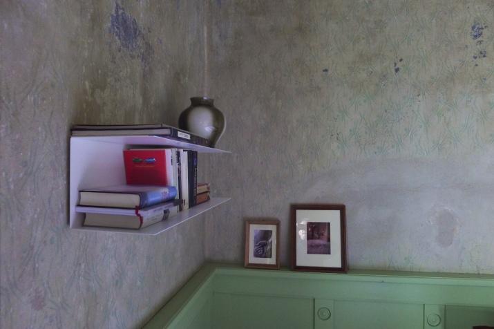 Bücher im Schlafzimmer